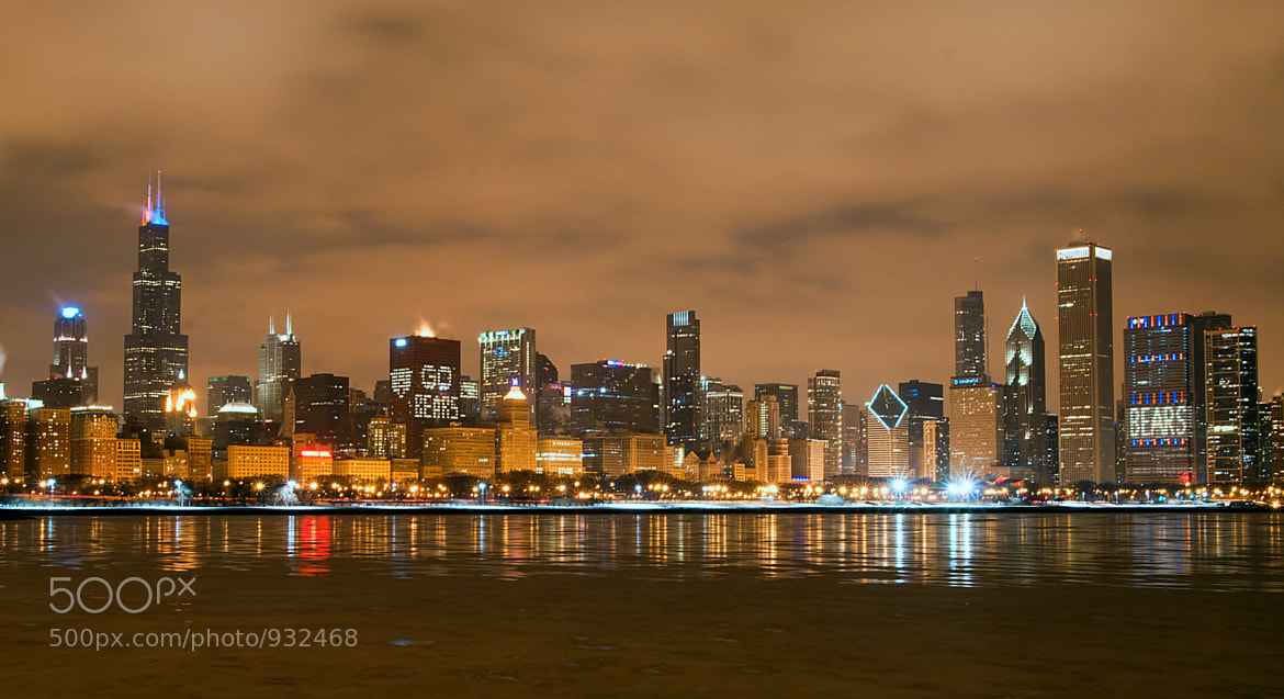 Photograph Chicago Bears Skyline by Jeff Lewis on 500px