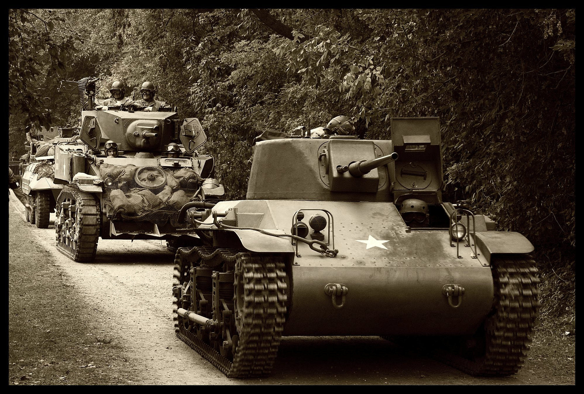 Photograph US Armor on the Move by Lyle Hatch on 500px