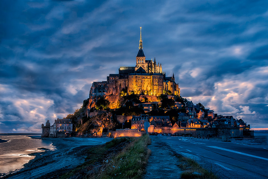 Mont Saint Michel by Abbas Lamouri on 500px.com
