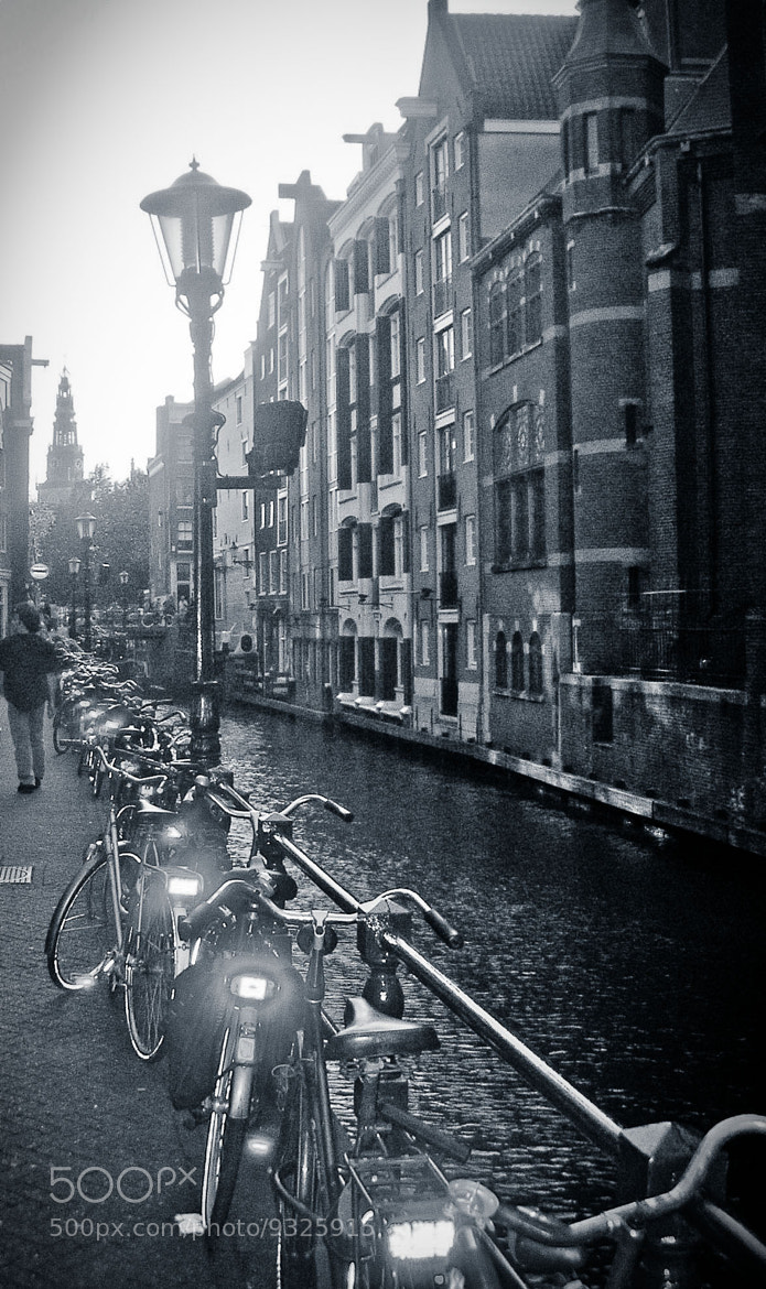 Photograph amsterdam bikes by syl pe on 500px