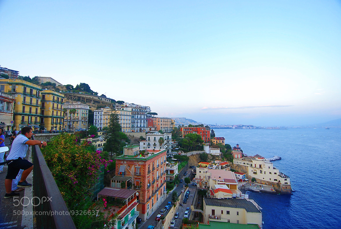 Photograph By the Sea in Napoli by terry vick on 500px