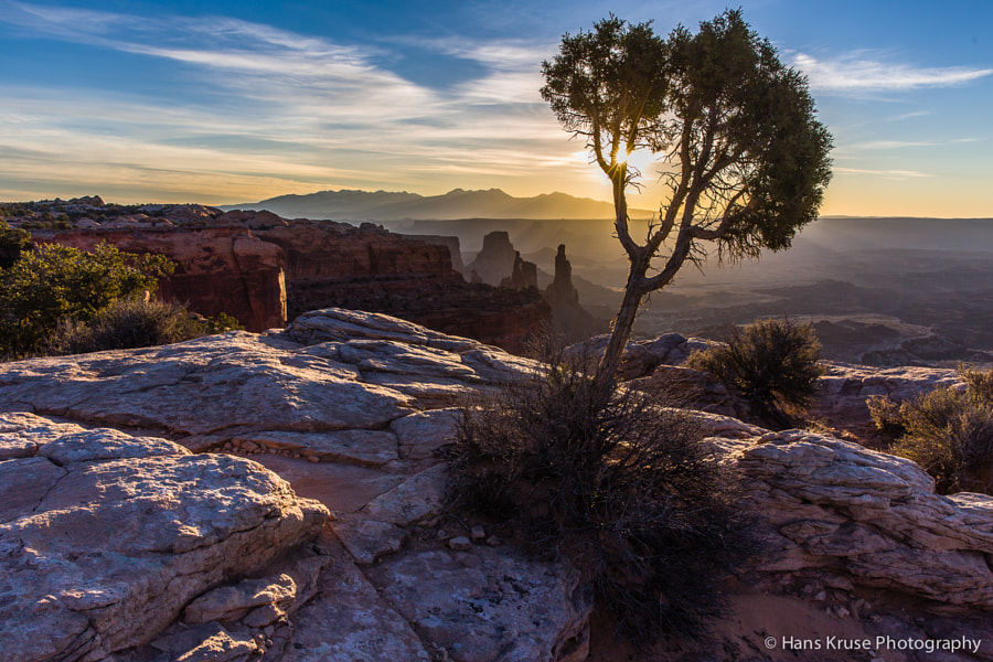 This photo was shot in the Canyonlands National Park near Moab in Utah during a trip to the USA in March 2014.