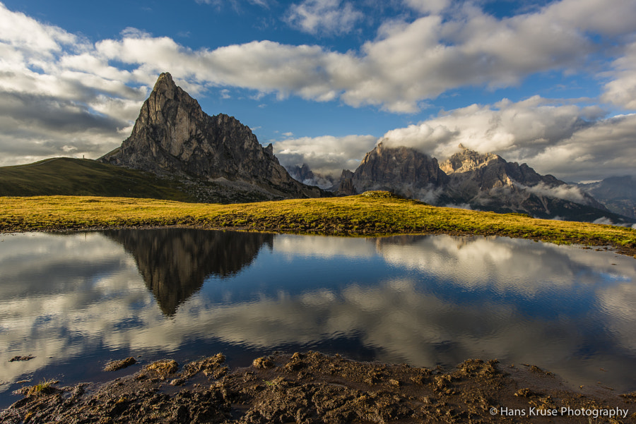 This photo was shot before the Dolomites East September 2014 photo workshop together with the first two participants.
