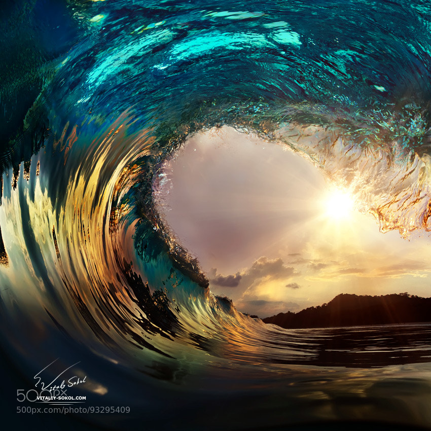 wave by Vitaliy Sokol