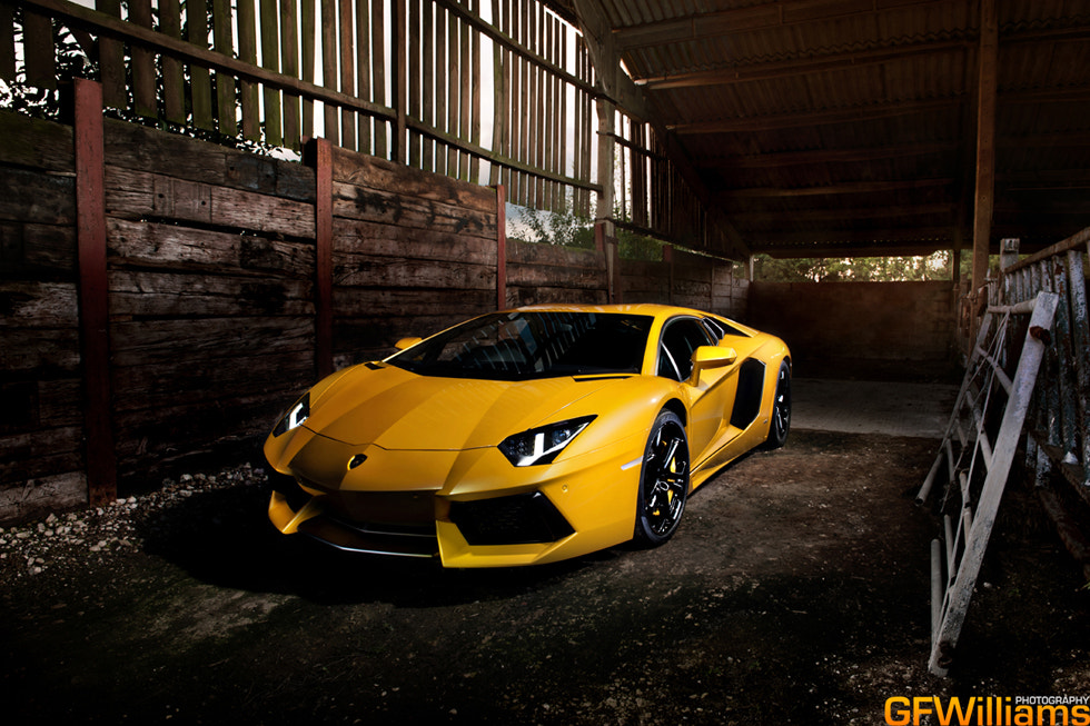 Photograph Lamborghini Aventador by George Williams on 500px