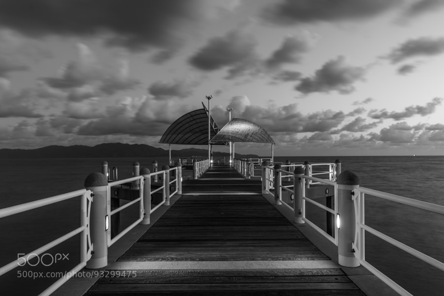 Photograph Strand Jetty Black and White by David Cooling on 500px