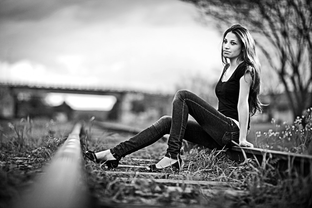 Photograph Waiting for a train... by Tony Carlesso on 500px