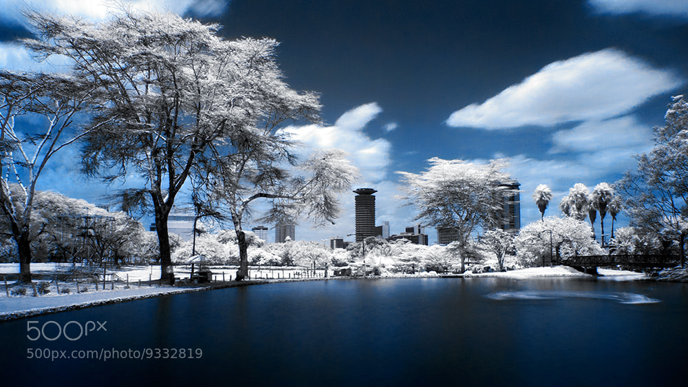 Photograph Nairobi covered in snow (infrared + long exposure) by Tony Corocher on 500px
