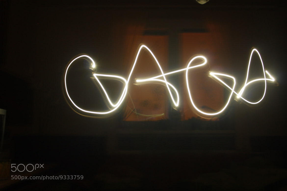 Photograph My First Light Graffiti Ever by Tom Toth on 500px