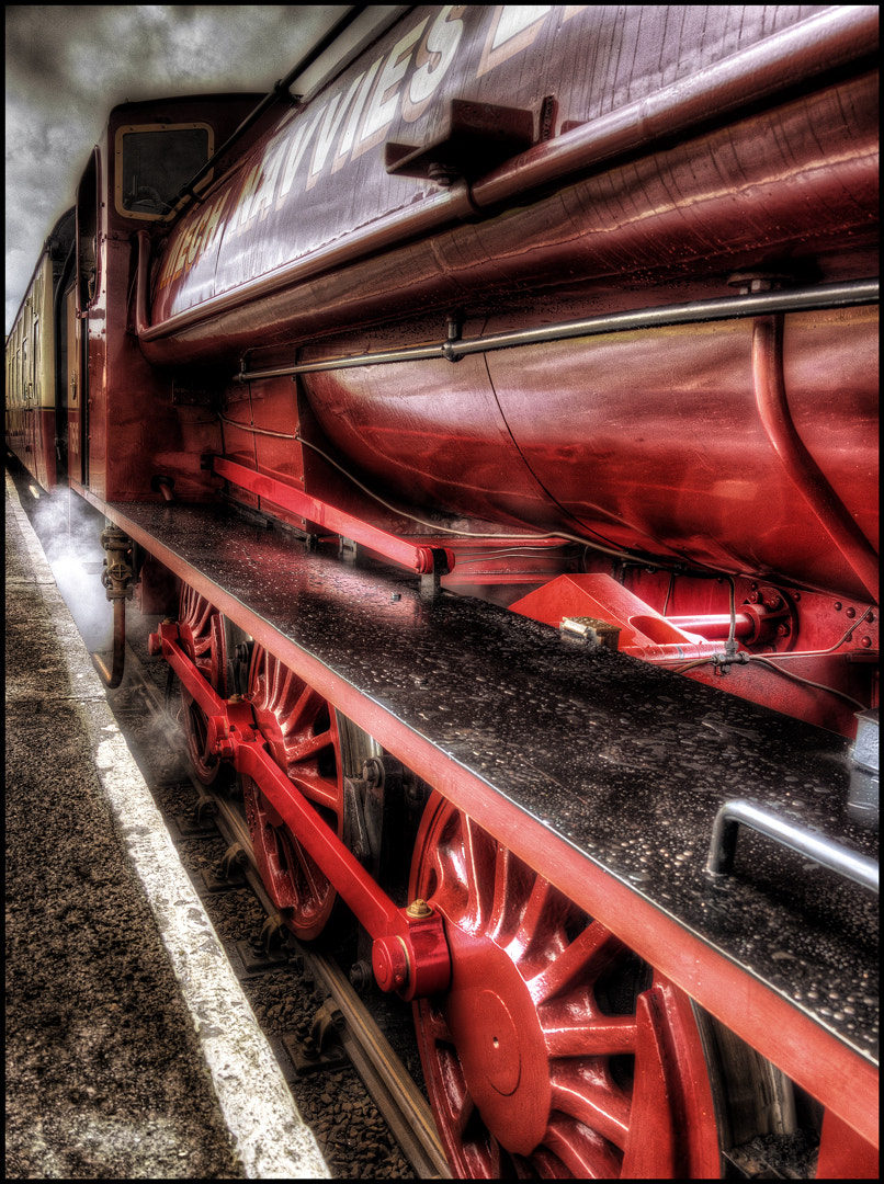 Photograph The Train by Matthew Jones on 500px