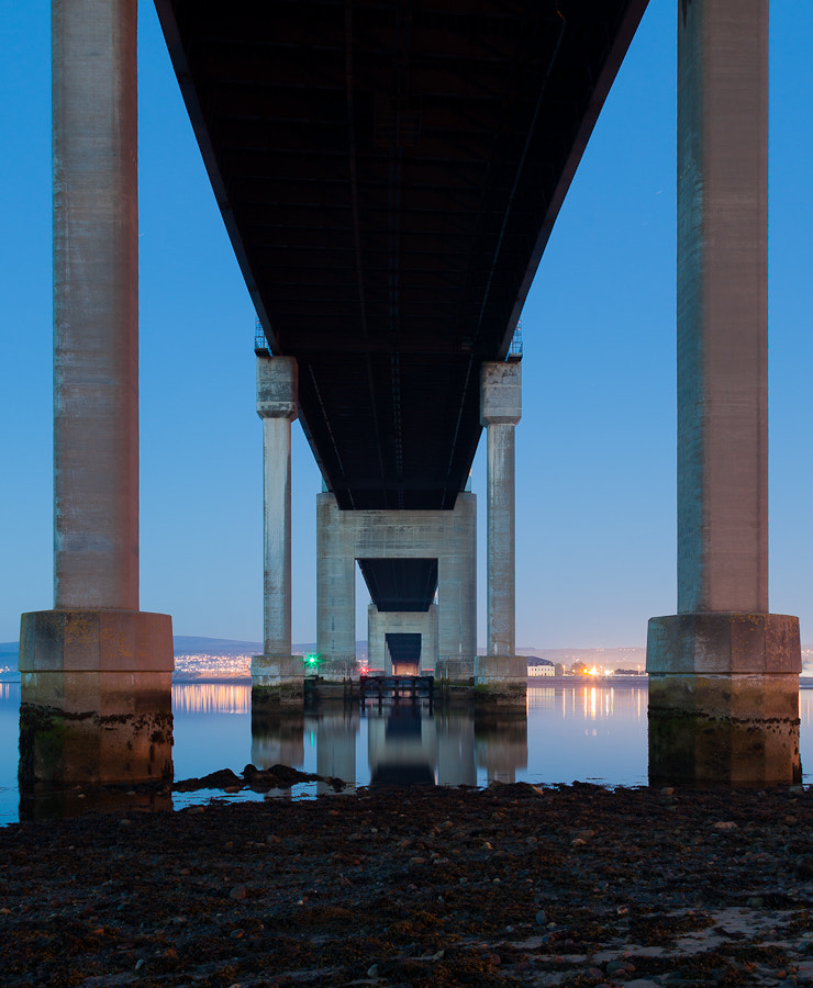 Photograph Underneath the Kessock Bridge, Inverness, Scotland. by Stanton Champion on 500px