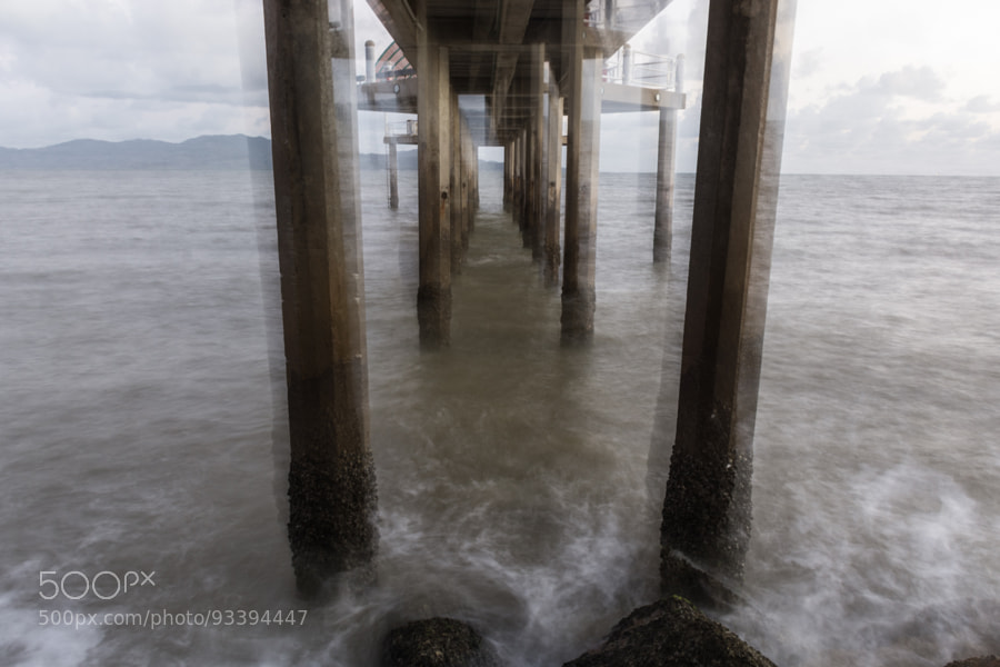 Photograph Strand Jetty Shaken by David Cooling on 500px