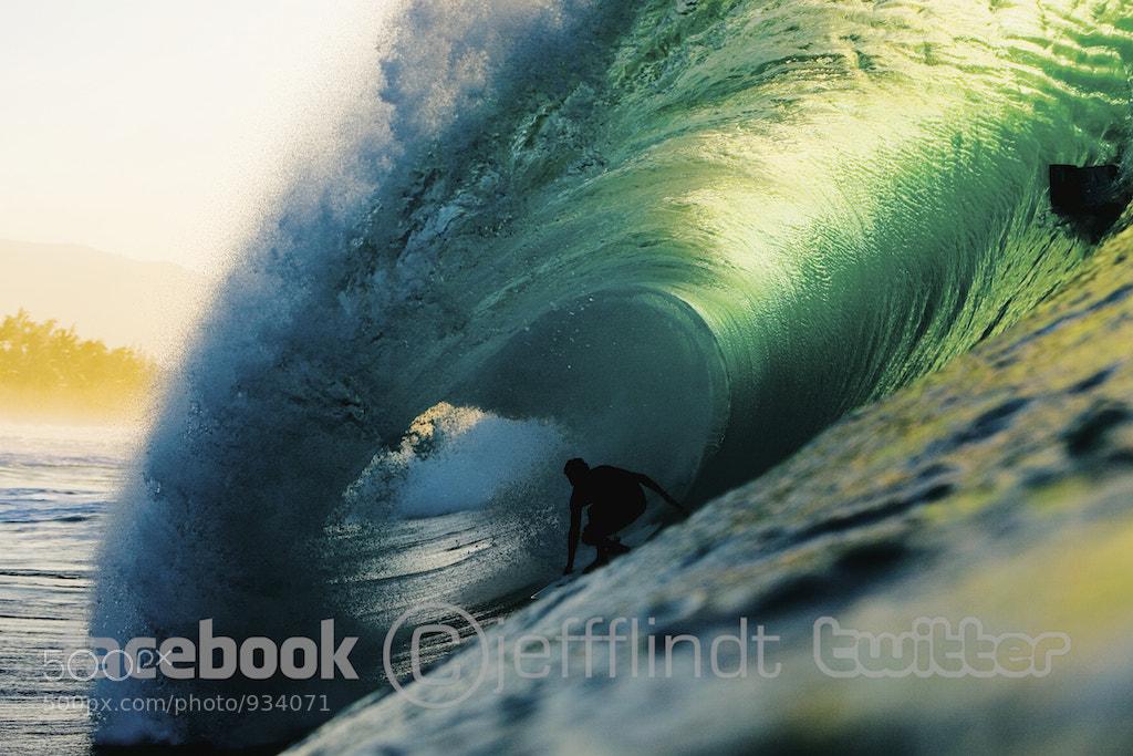 Photograph Mikala Jones Pipeline by Jeff Flindt on 500px
