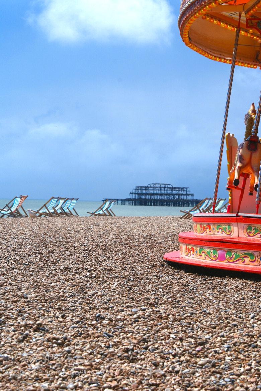 Photograph Brighton Beach by Richard Willson on 500px