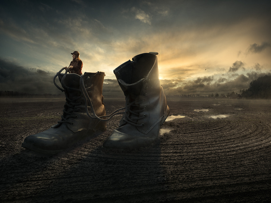 Walk a way by Erik Johansson on 500px.com