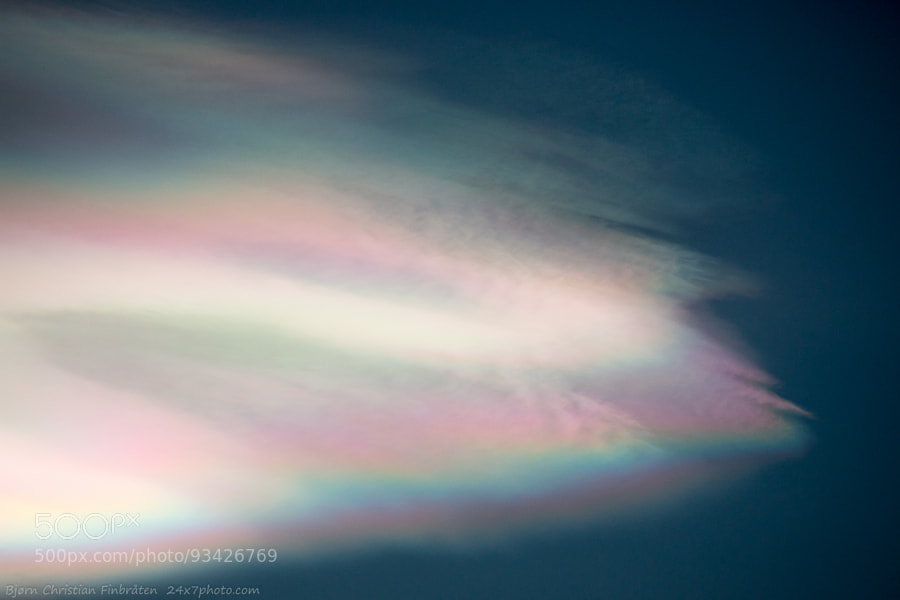 Drifting rainbow