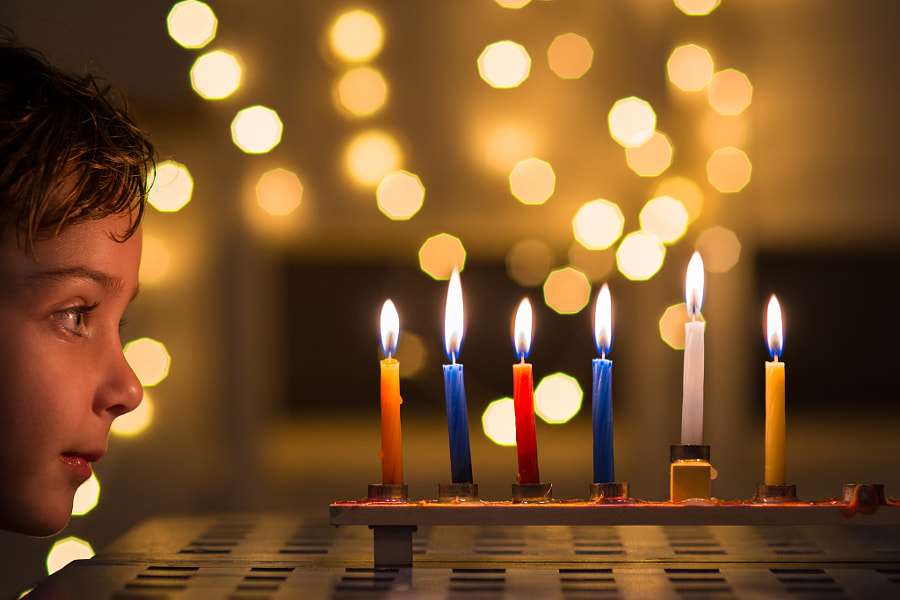 Hanukkah Candles by Guy Bashan on 500px.com