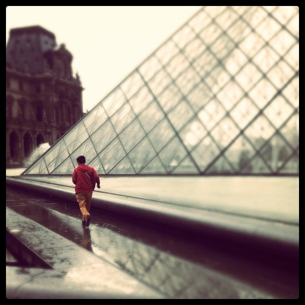 Photograph Louvre the Rain by Meghan Arias on 500px