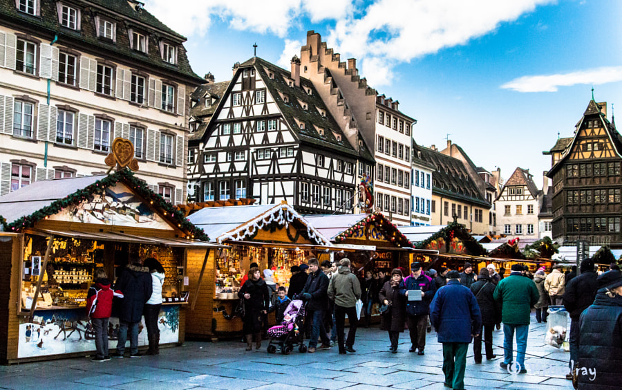 Strasbourg Christmas Market by Ray Stephenson on 500px.com