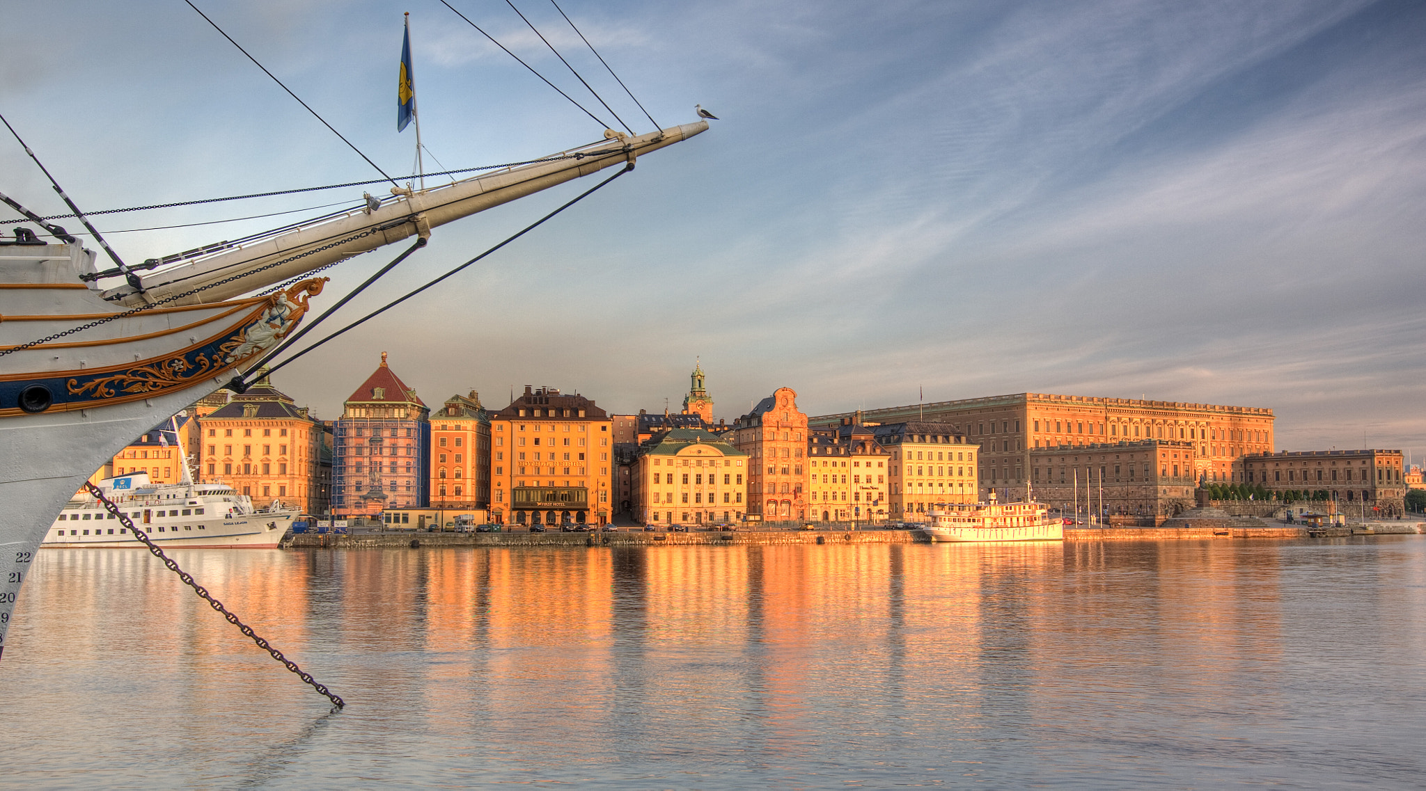 Photograph Early morning in Stockholm Old Town by Michael Cavén on 500px