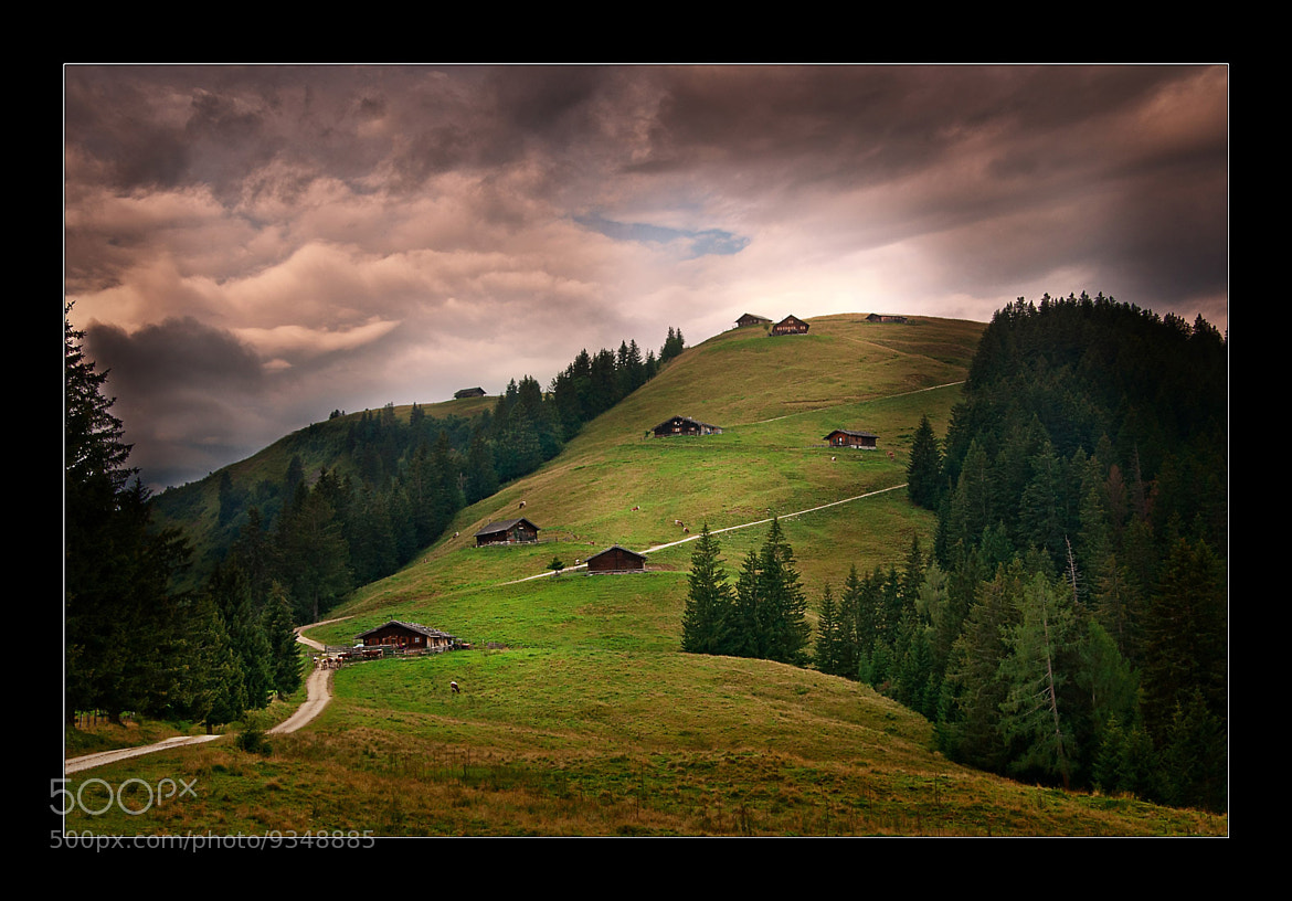 Photograph 'Lofer Alm' by Bilder Kunterbunt on 500px