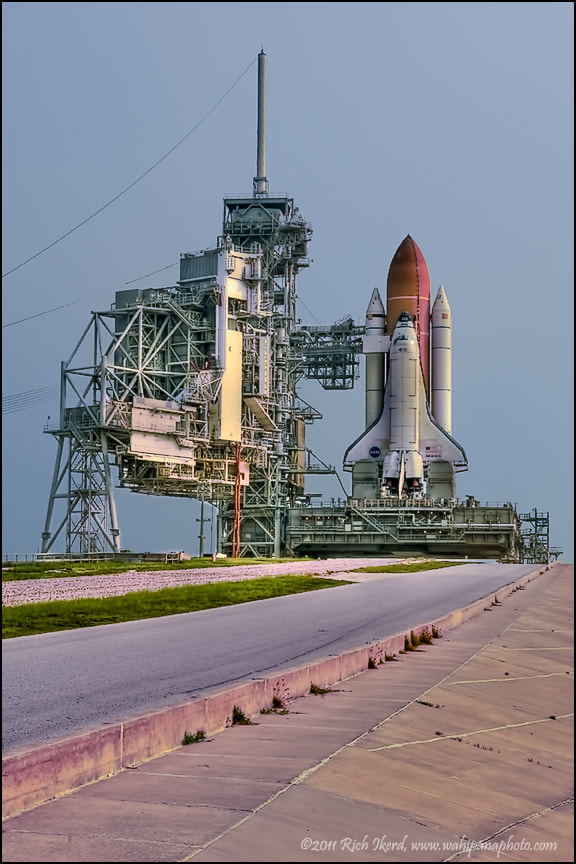 Photograph Shuttle Atlantis on Pad 39A by Richard Ikerd on 500px