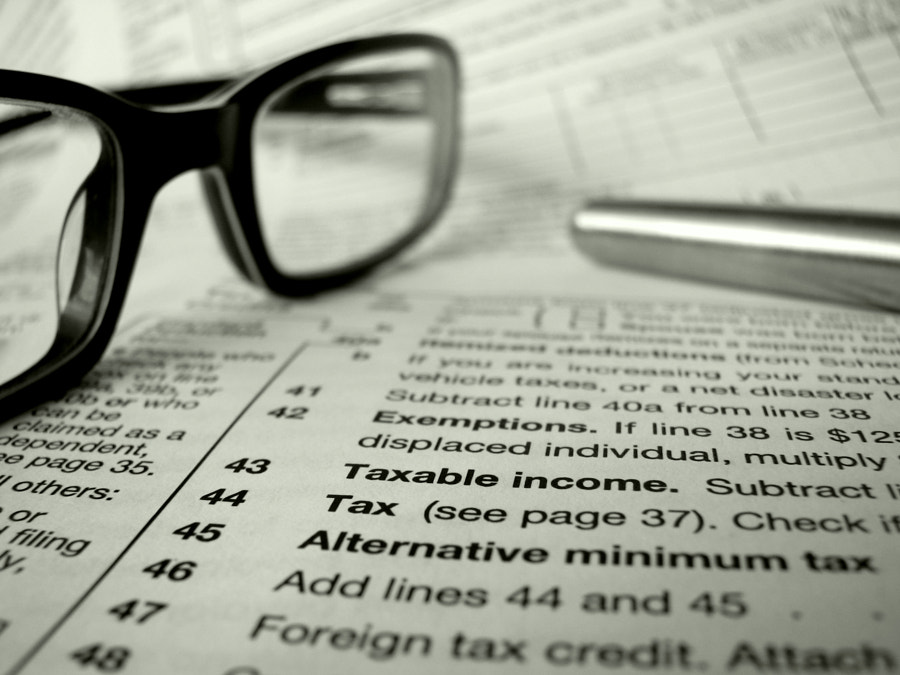 Tax Form And Pen by Mr Doomits on 500px.com