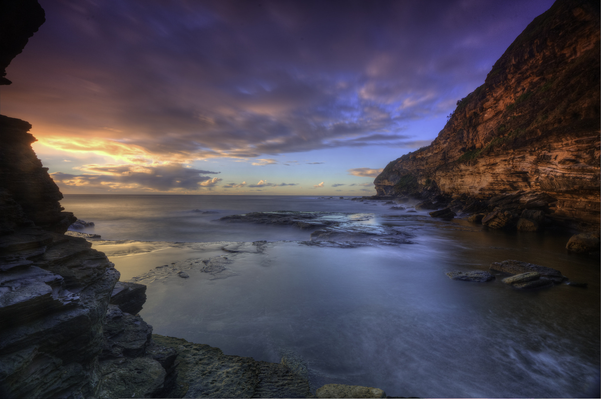 Photograph Dawn at the Canyon by donald Goldney on 500px