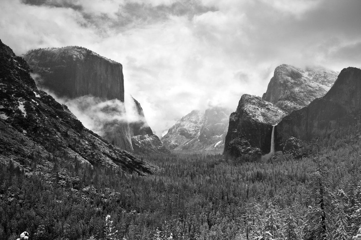 Photograph May snow at Tunnel View by Ellie Stone on 500px