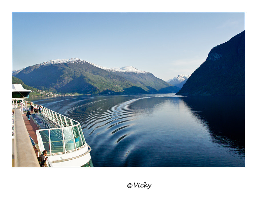 Photograph leaving the fjord, Norway by Vicky Dens on 500px