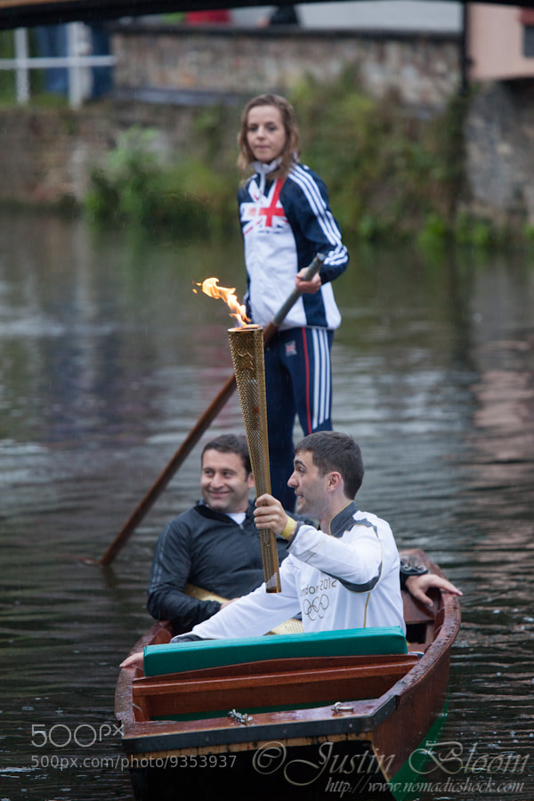 Photograph Olympic Torch on a Punt by Justin Bloom on 500px