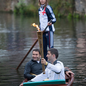 Olympic Torch on a Punt by Justin Bloom (NomadicShock)) on 500px.com