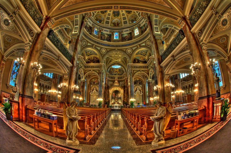 Photograph The Basilica - HDR Version by Gokul K on 500px