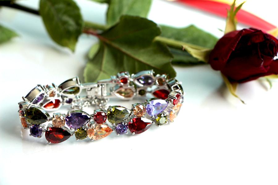 Colorful Crystal Bracelet