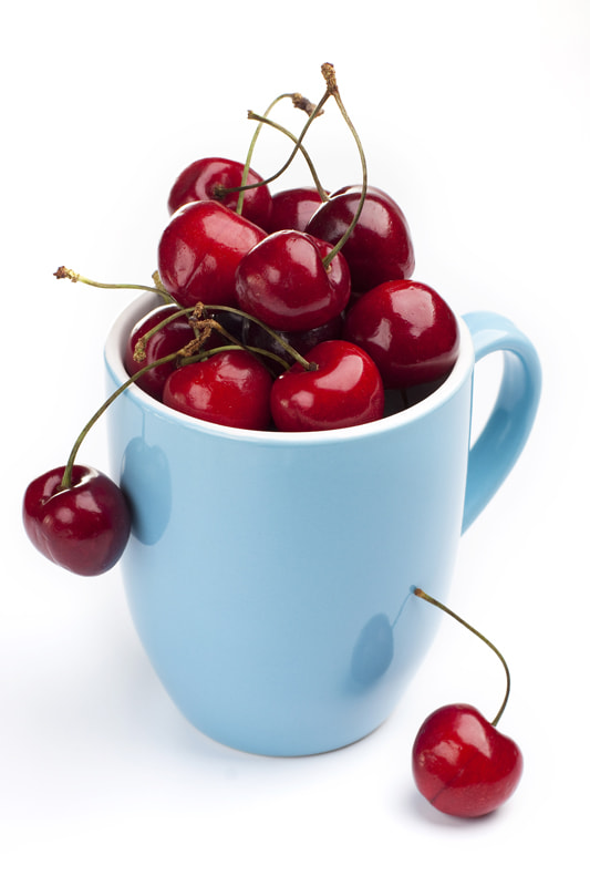 Photograph Cherries in a cup by Elena Rakhuba on 500px