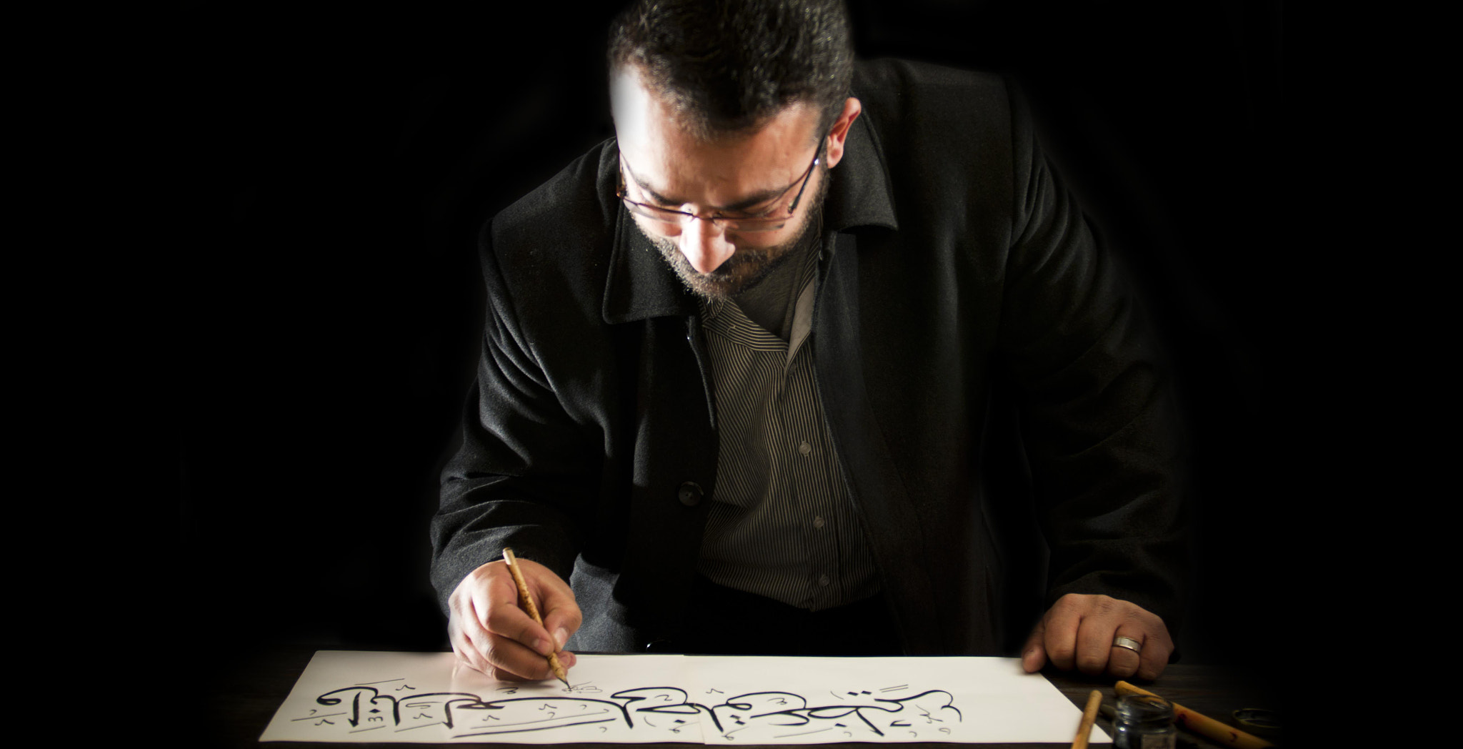Photograph Arabic Typography by ali abu-baker on 500px