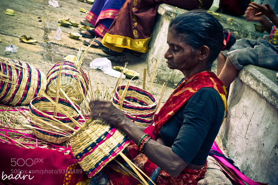 Photograph Busy working by Badri J on 500px