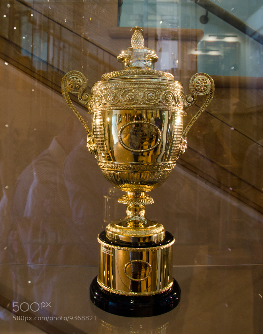 Photograph Wimbledon mens' singles trophy by Paul Indigo on 500px