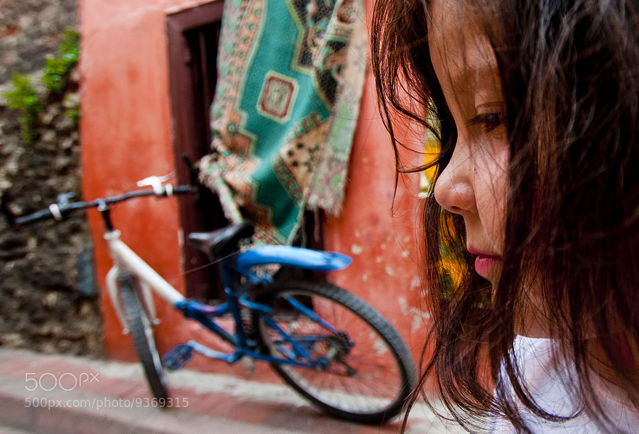 Photograph Kids and Bicycle by Deniz Senyesil on 500px