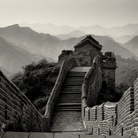 Great Wall by Mike Hollman (MikeHollman) on 500px.com
