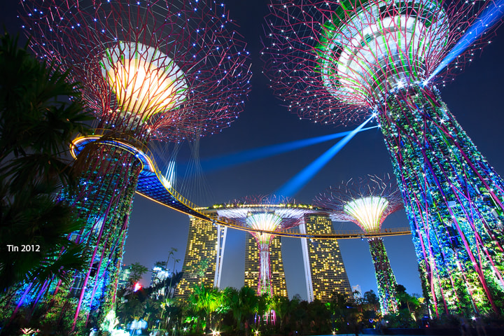 Photograph Symphony of lights by christine tan on 500px