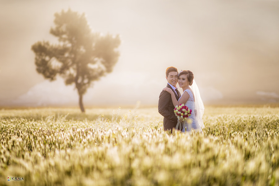 I am a sunrise and a sunset lover. I am really greatfull that the bride and groom for believing me.
