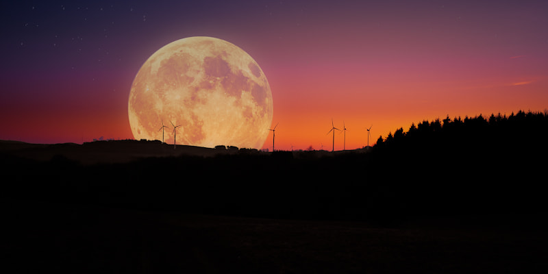Photograph Supermond 2012 by Andreas D. on 500px