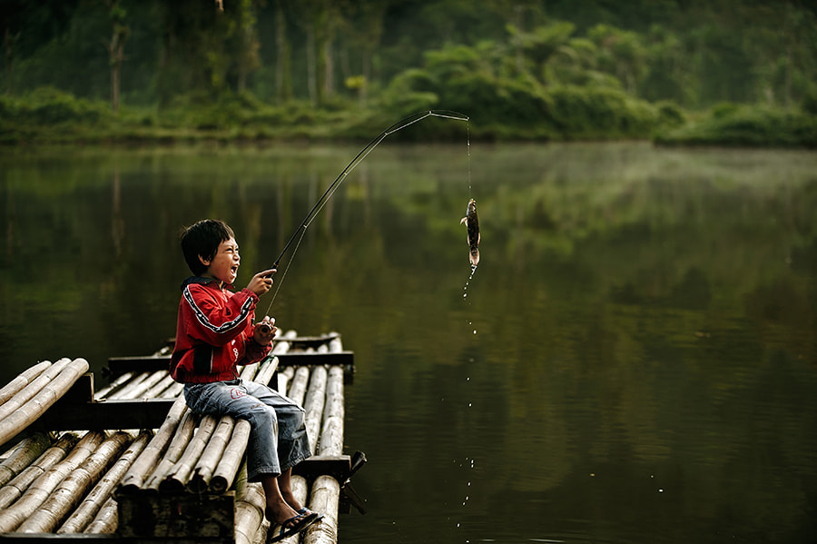 Photograph fishing by Zaid Ishak on 500px