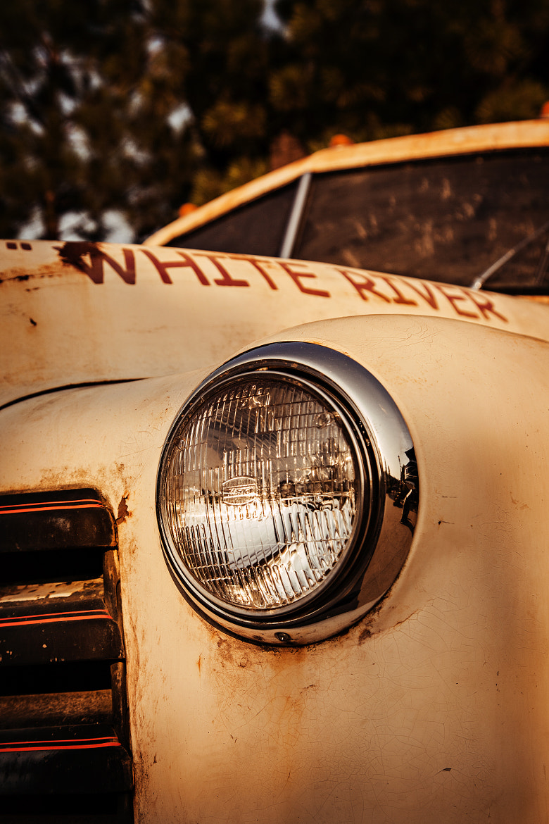 Photograph Chevy Headlight by Eric Wells on 500px