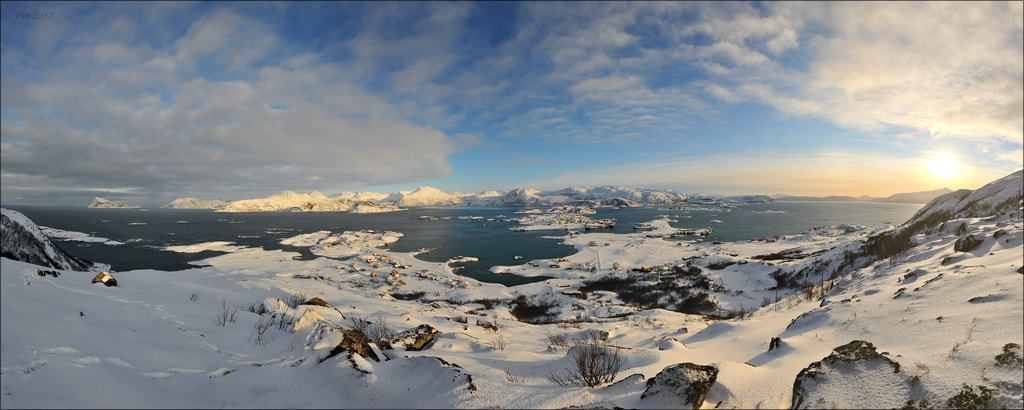 Photograph Sommarøy Panorama by Elmar Weiss on 500px