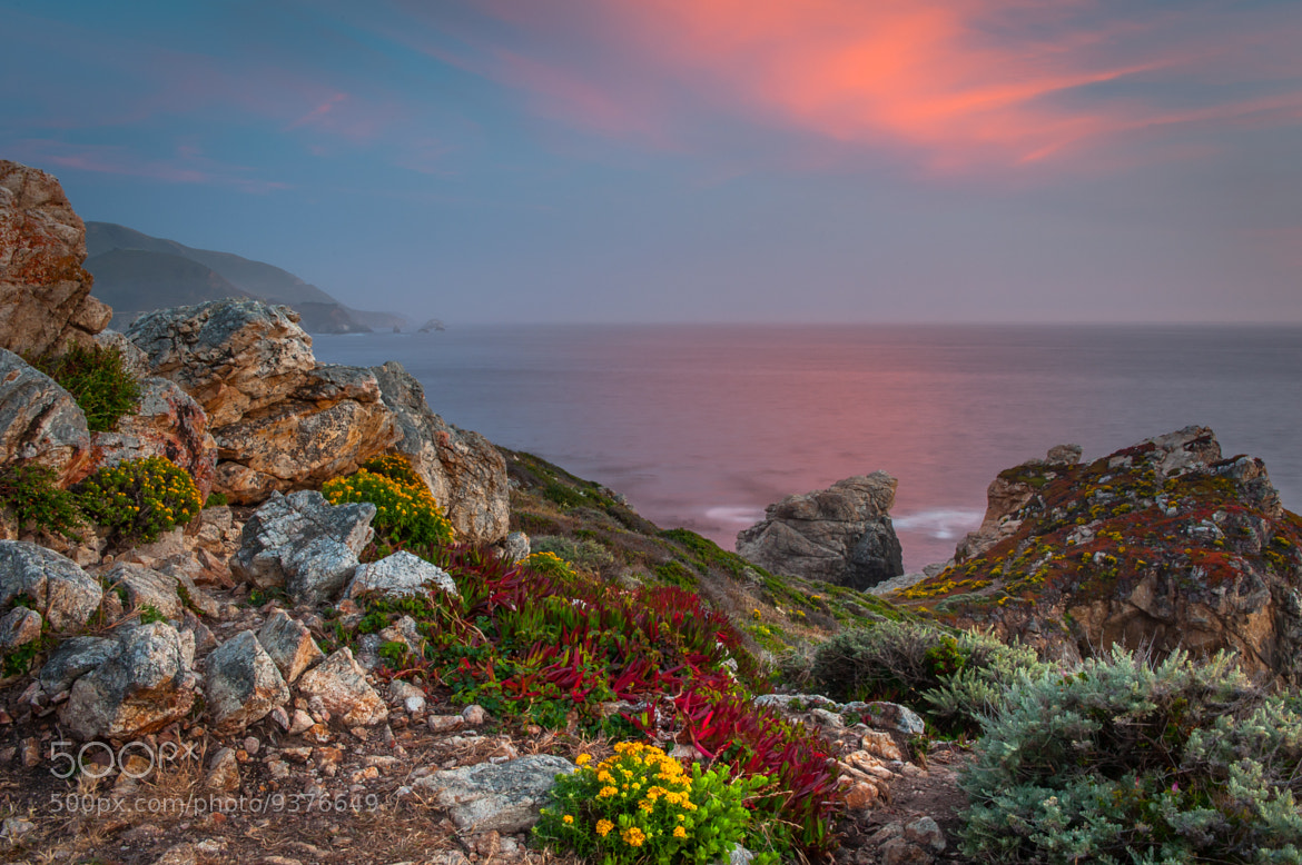 Photograph Evening on the Pacific coast by Mike Walker on 500px