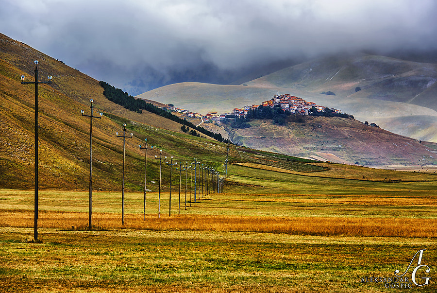 Sooner or later every sequence must come to an end  Castelluccio, Apennines, Italy