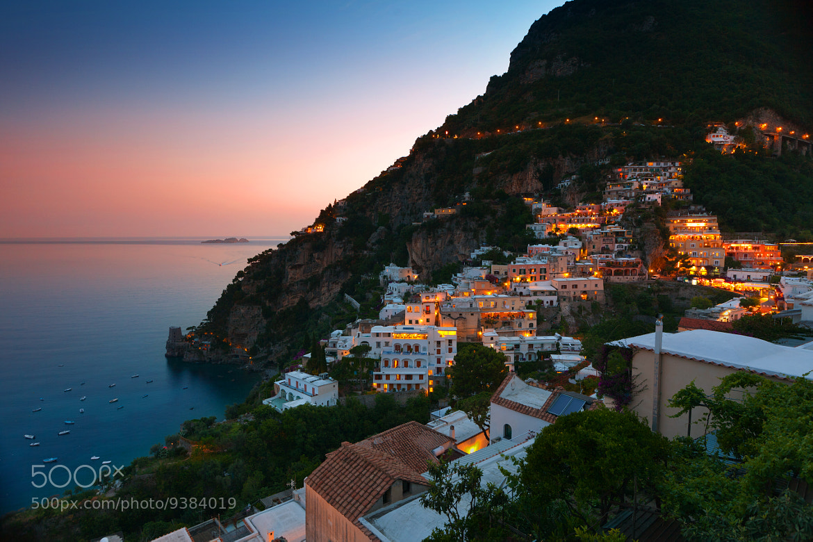Photograph Positano Evening by Eric Whipp on 500px