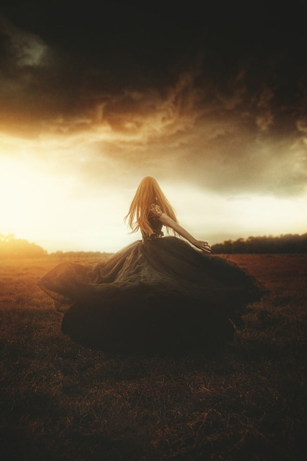 Woman In Black by TJ Drysdale on 500px.com